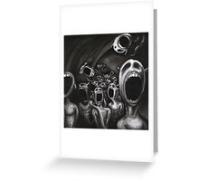 Hell Is Empty And All The Devils Are Here Greeting Card