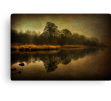 Misty Reflections Canvas Print