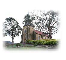 St. John Catholic Church - Richmond Tasmania - 1835. by PaulWJewell