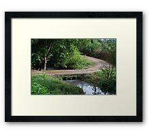 Little Bridge Framed Print