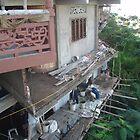Lao Cai Temple Rebuilding by sarahric