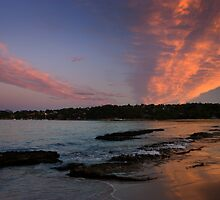 Walking on Sunset by Mark  Hodges