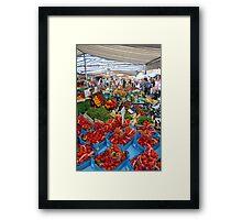 Via Carlo Valvassori Peroni Market Framed Print
