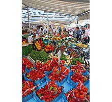 Via Carlo Valvassori Peroni Market Photographic Print