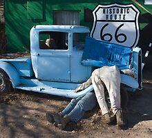 Gettin My Kicks on Route 66 by photosbyflood