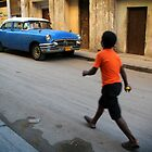 Street scene in Old Havana, Cuba by Keith Molloy