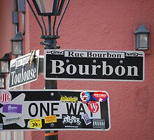 Bourbon St, New Orleans, LA by Marlo510