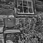 Have a Seat in B&W by Appel