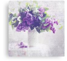 Faded Lilacs Canvas Print