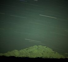 Denali Star Trails by Dave Hampton