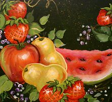 Assorted Fruit by Cathy Amendola