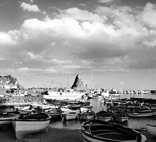 Acitrezza, the port by Andrea Rapisarda