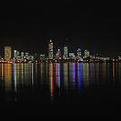 Perth - The City Of Lights  by EOS20