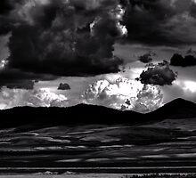 Hills of Dark Thunder by J. D. Adsit