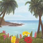 Tropical Cove by Linda Bennett