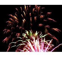 Queen's Brithday Fireworks - Part IV. Photographic Print