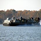 USN Hovercraft by Timothy Gass