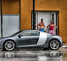 Audi R8  by Andy Mueller