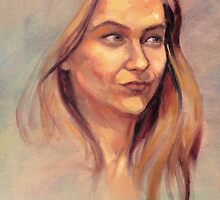 Portrait of Susie by Roz McQuillan