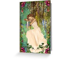 In Dreams Greeting Card