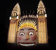Sydney Luna Park at Night by Kamran Baig