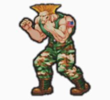 Guile - Simply the Best Street Fighter by Saltuk Karayalcin