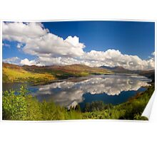 Loch Carron in Springtime. Highlands of Scotland. Poster