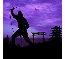 Ninja Attack Photographic Print