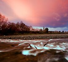 Candy Floss Hutt Dawn by Ken Wright