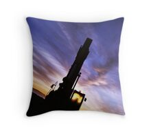 Morning Works Throw Pillow