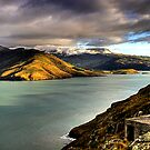 Lyttelton Harbour by Robyn Carter