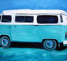 My aqua kombi dream mobile by ChristineBetts