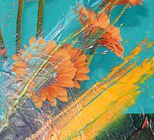 Orange burst by ARTforcancer