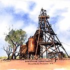 Enterprise Headframe,Kalgoorlie.West Australia by robynart
