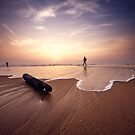 Sunrise In Chennai, India by rohitsabu