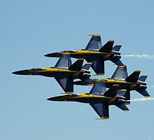 Blue Angels by Stephanie Traylor