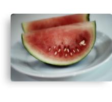 Sliced Melon Canvas Print