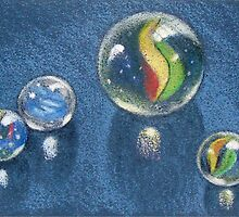 Four Marbles by Joyce