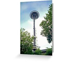 Up to the Space Needle Greeting Card