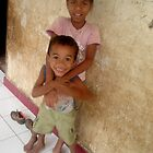 Brother and sister by Higinia Ferreira by Friends  of Suai