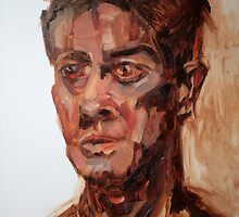 Portrait of Andrew in Oils by matthewIaldous