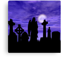 Beauty in the Grave  Canvas Print
