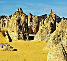 Pinnacles 2 by Richard  Willett