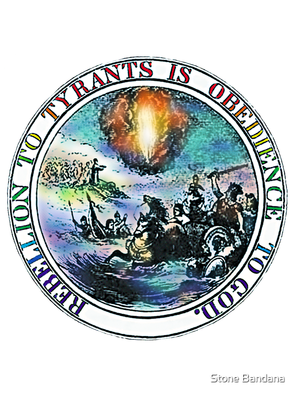 Rebellion To Tyrants Is Obedience To God by Vicktorya Stone