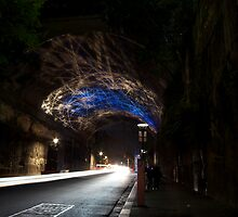 Argyle St Tunnel Vivid Festival by Zachary Law