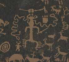 Pictographs by Ray Rozelle
