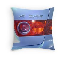 a car Throw Pillow