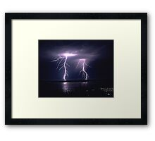 Couple Electric Framed Print