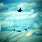 Air Force Thunderbirds  by cshphotos