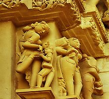 Erotic Art of Khajuraho#2 by Mukesh Srivastava